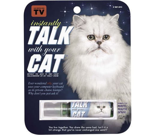 Talk with Your Cat Mouth Spray