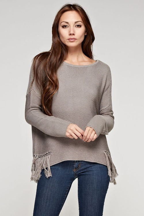 Fringe Benefits Pullover