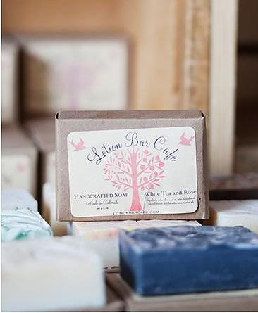 Lotion Bar Cafe Soap Lavender Mint