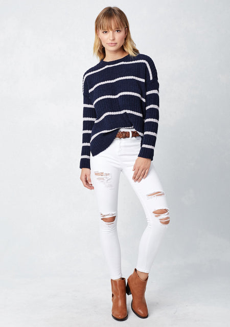 Long-sleeve Cotton Top