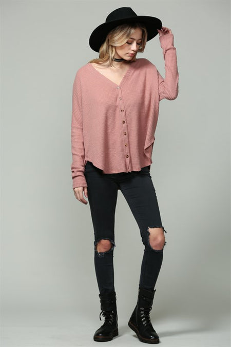 Long Sleeve Modal Top