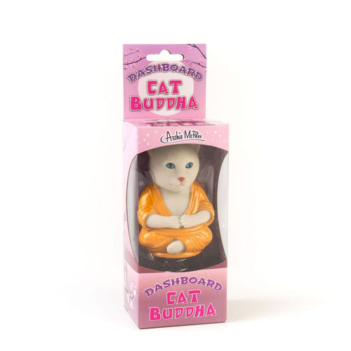 Dashboard Cat Buddha Toy