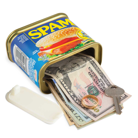 Spam® Can Decoy Safe