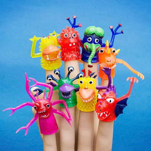 Finger Monster Puppets