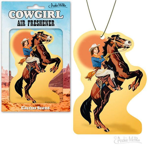 Cowgirl Air Freshener