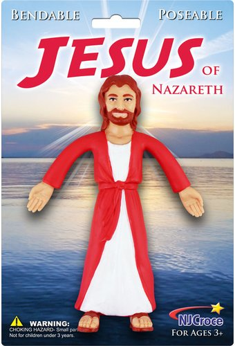 Bendable Jesus Toy