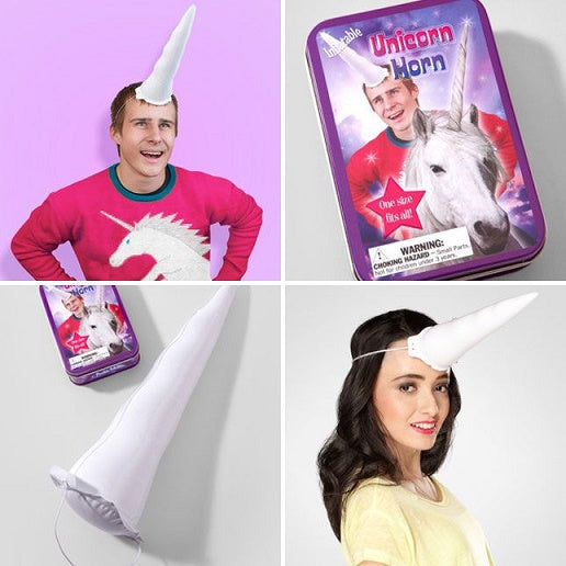 Inflatable Unicorn Horn Toy