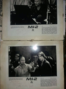 """Mission impossible"", autographs"
