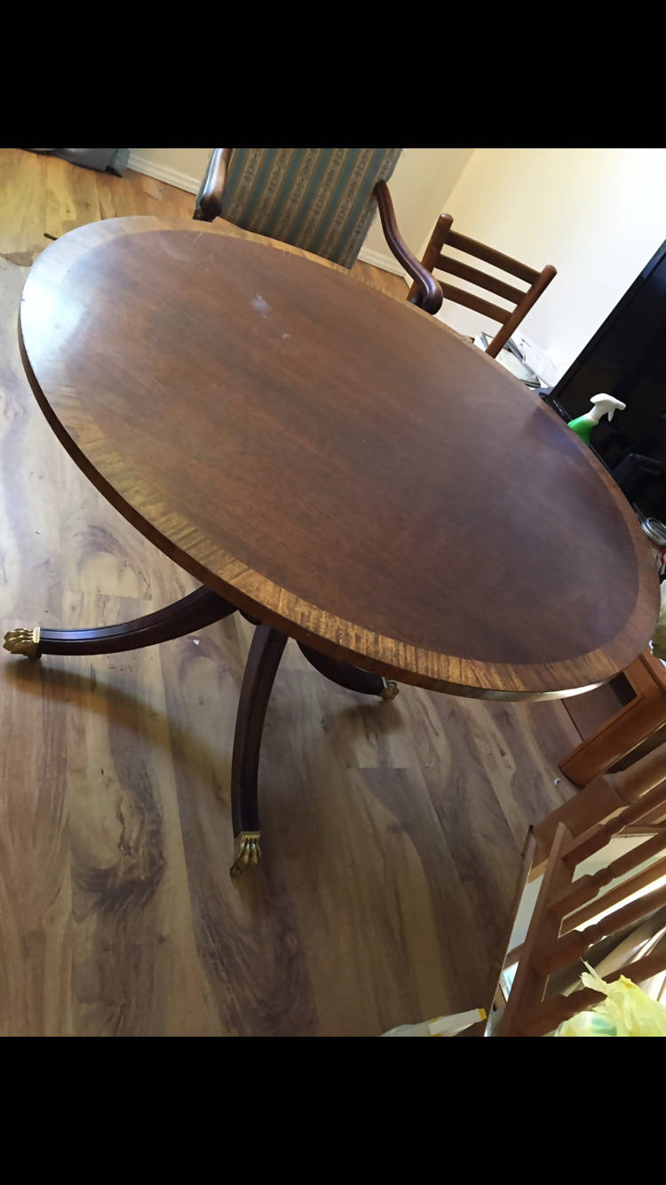 Duncan Phyfe Pedestal Table
