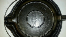 Montogomery Ward Cast Iron waffle Iron and Base
