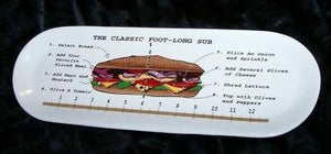 The Classic Foot-Long Sub - 2 Plates
