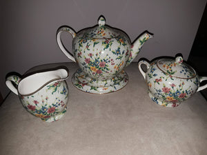 Rare Royal winton Grimwades Chintz Tea Set