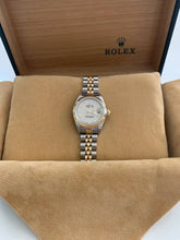Rolex 26mm 18K/Steel*#69173*Ivory Jubilee Arabic Dial*100% Genuine*1997