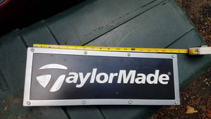 Taylor Made Double Sided Sign