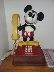 Vintage 1976 Disney Mickey Mouse Phone