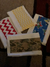 Homemade burp cloths