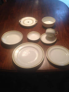 Haviland china set for 12