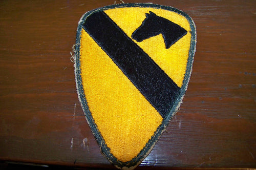 1st Cavalry Div. Vietnam Era Patch