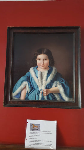Exceptional 19th Century Oil on Canvas Portrait