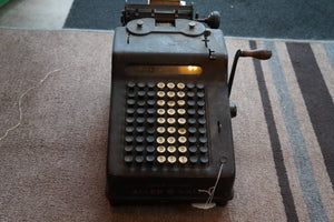 Allen Wales Adding Machine