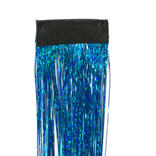 Summer Blue Clip In Hair Sparkle Extensions