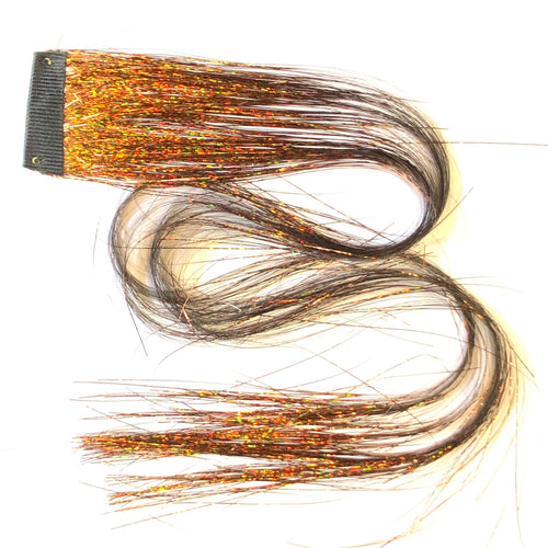 Clip in hair sparkle extension