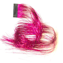 Hot Pink Clip in Sparkle Extensions