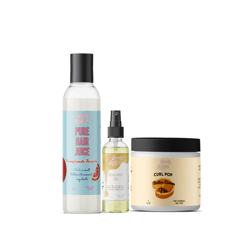 Pure Hair Juice Duo + Curl Pop Bundle