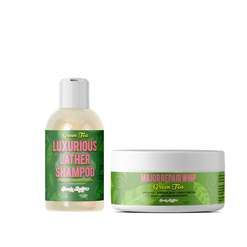 Green Tea Shampoo & Conditioner Bundle