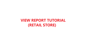 How to view report in YMJ POS software (Retail Store)