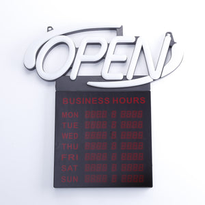 AOPMB-20   / Oval Multi Color OPEN Sign With BHRS