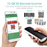 AP2000  2D Bluetooth Barcode Scanner