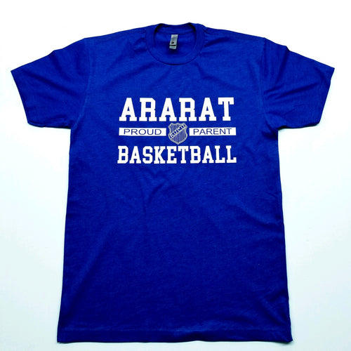 ARARAT BASKETBALL PROUD PARENT T-SHIRT