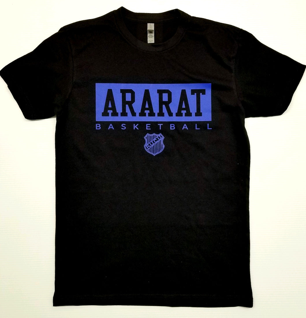 ARARAT BLACK & BLUE  TSHIRT