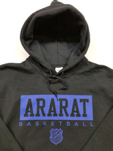 2019 ARARAT BLACK & BLUE HOODED SWEATSHIRT