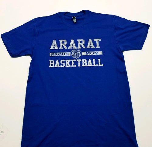 ARARAT BASKETBALL PROUD MOM T-SHIRT