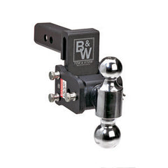 10 Drop  Dual Mount  Tow & Stow Ball Mount