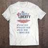 Four Boxes of Liberty T-shirt (MADE IN THE USA)