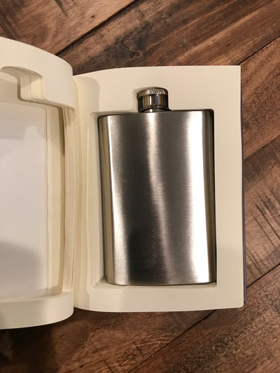 Secret Book Flask
