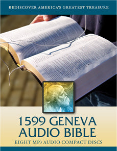 1599 Geneva Bible (MP3 Audio CDs)