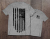 Grunge American Flag T-Shirt (MADE IN THE USA)