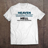 Heaven and Hell Immigration T-Shirt (Made in the USA)