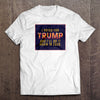 I Voted for Trump T-Shirt (Made in the USA)