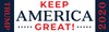 Keep America Great! Bumper Sticker