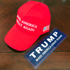 MAGA cap & sticker combo