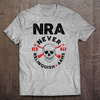NRA - Never Relinquish Arms Tshirt (MADE IN THE USA)