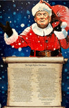 Santa Trump Night Before Christmas Print