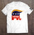 Trump GOP Elephant T-Shirt (Made in the USA)