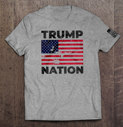 Trump Nation T-Shirt (Made in the USA)