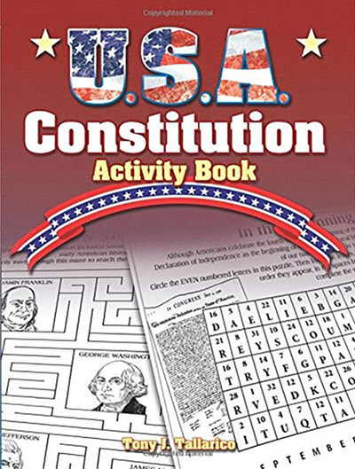 USA Constitution Activity Book